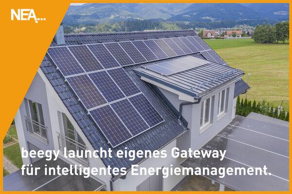beegy launcht eigenes Gateway für intelligentes Energiemanagement in Haushalten