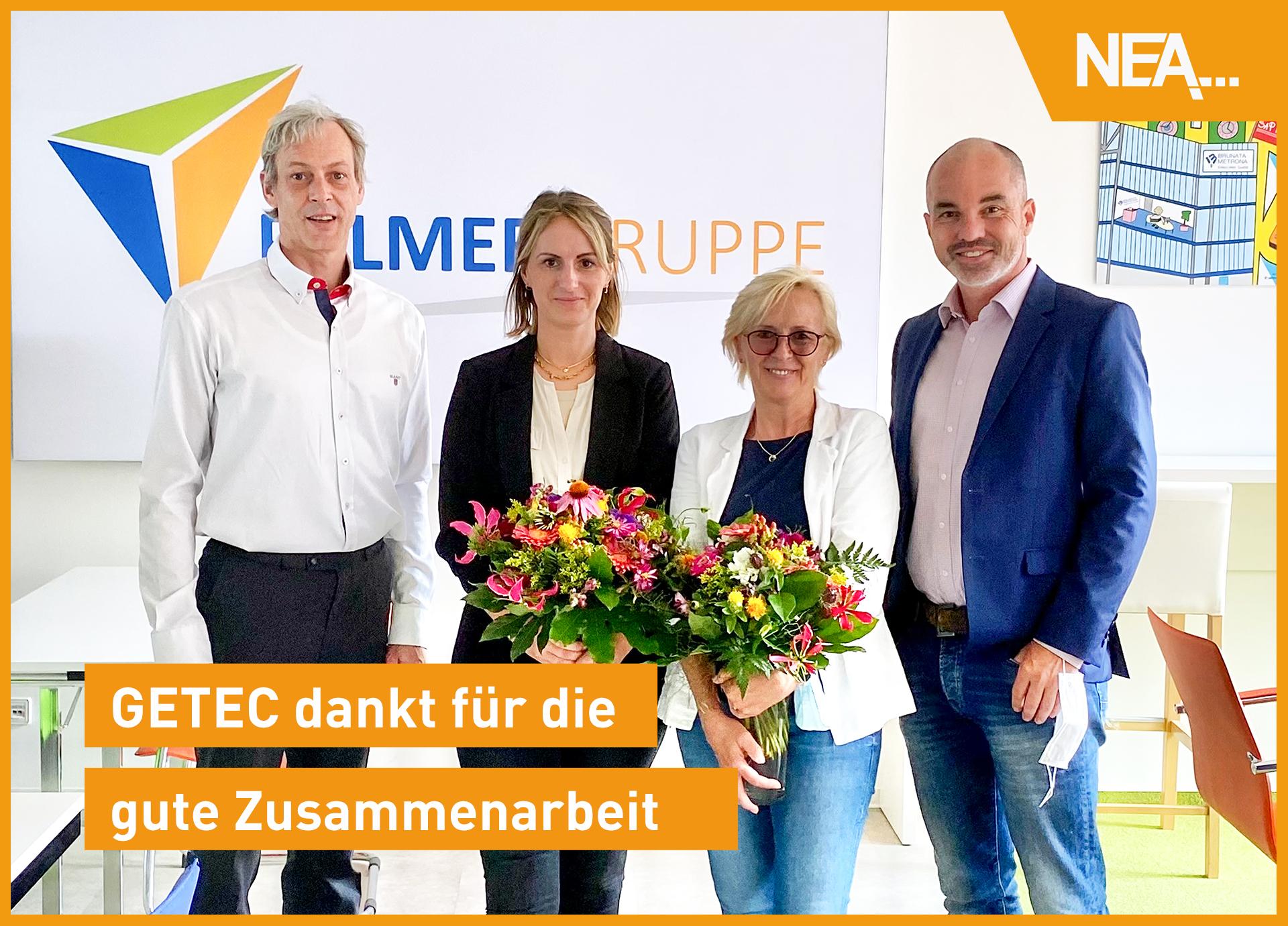 GETEC dankt für gute Zusammenarbeit